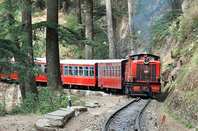 toy train shimla