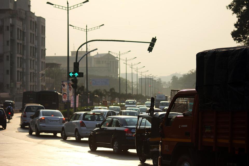 traffic signal india