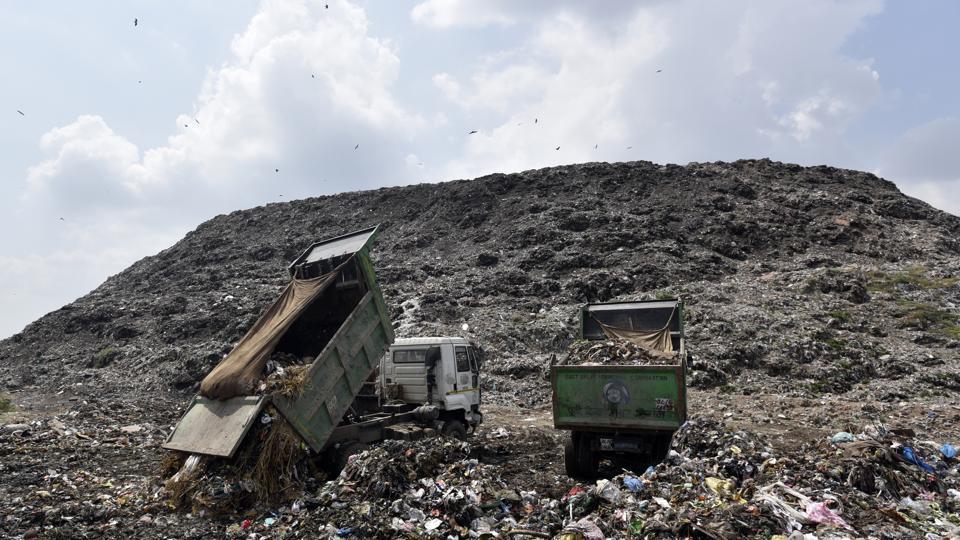 delhi garbage dump