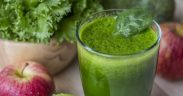 Fresh green detox drink
